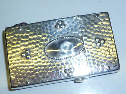 Vintage Imperator Lighter With 800 Silver Case/coat - Hammerton Look - Rare