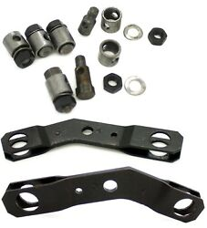 Heater Box Butterfly Lever And Barrel Screw And Nut Kit Porsche 356a 356b 356c