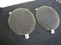 Stone Guard Headlights Gutter Mesh Grill Rally Vintage Cover Ghe For Porsche 356