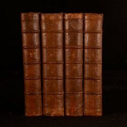 1732 4vol A General Collection Of Treatys Declarations Of War..and Other Publick