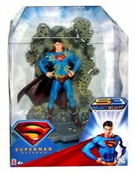 Superman Returns Select Sculpt Superman Figure Invulnerable