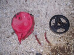 1 Farmall C Tractor Ih Ihc Brake Cover With Band And Springs And Drive Drum