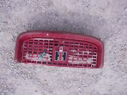 Farmall Ih 560 460 Tractor Front Nose Cone Grill Bonnet And Screen Emblem And Horn