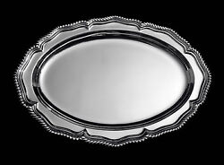 New York Magnificent Antique Silver Plated Serving Platter - Stunning