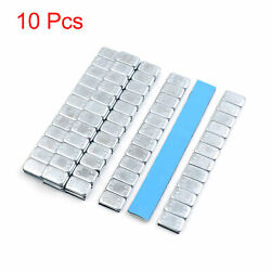 2.1oz Self Adhesive Wheel Balance Weights Strips For Motorcycle 140 X 19mm 10pcs