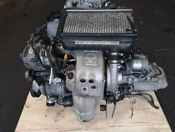 TOYOTA CALDINA ST215 3SGTE ENGINE AND GEARBOX MANUAL KIT