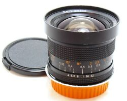 Carl Zeiss 18mm f4 Distagon T* lens converted Canon EOS EF Germany EXC++