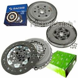 Valeo 2 Part Clutch Kit And Sachs Dmf For Opel Combo Tour Mpv 1.3 Cdti 16v