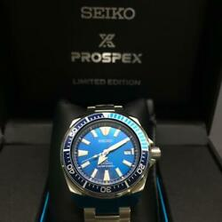 Seikoand039s Prospex Samurai Divers Menand039s Watch Limited 4r35-01s0 Srpb09 Japan