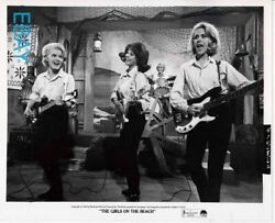 Lana Wood Rocks Out In Girl Group The Girls On The Beach Vintage Photo