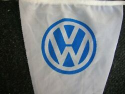 Orig Vintage Vw Flag Volkswagen Bug Accessory Classic Beetle Perohaus Ghe Nos