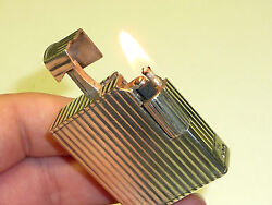 Rose Liftarm Lighter -solid 925 English Sterling Silver - London - England -rare