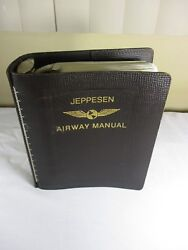 Vintage Jeppesen Airway Flight Manual C. 1970and039s1980and039s Procedures Kyohiowimi