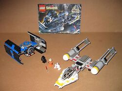 7150 Lego Tie Fighter And Y-wing – 100 Complete W Instructions Ex Cond 1999