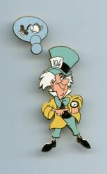 Disney Auctions Alice In Wonderland Mad Hatter Thinking About Tea Time 2 Pin Set