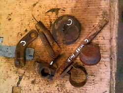 Farmall C Tractor Ih Ihc 8 Cover Cap Caps And Parts And Springs And Bracket Pieces
