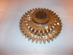 Farmall A Rc Ih Tractor Transmission Drive 3rd And 4th Slide Gear 26 And 37 Teeth