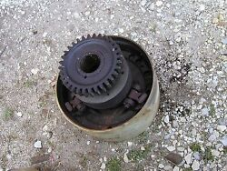 1935 Unstyled John Deere B Tractor Jd Clutch Belt Pulley And Drive Gear