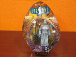 2000 Farscape Sci-fi Tv Zhaan Alien Limited To 2000 Figure W/trading Card Rare
