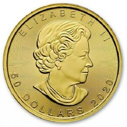 Forty (40) One Ounce 2019 Canadian Maple Leaf Gold Coins - FREE shipping