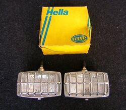 Nice Nos Vintage Hella Lamps Volkswagen Cox Bug Thing Mercedes Mb Bmw Rally
