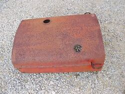 Coop Co Op E3 Tractor Engine Hood Cover W/ Front Light Mounting Bracket Brackets