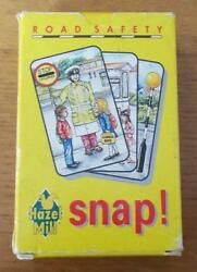 Road Safety Snap Vintage Leicestershire Council Card Game