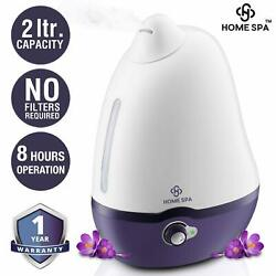 Home Spa Cool Mist Dolphin Humidifier  for Comfortable Sleep - 2 L Free Shipping