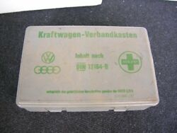 Vw First Aid Box Vintage Classic Car Accessory Volkswagen Bug Bus Gti Germany