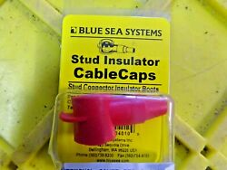 Blue Sea Systems Boat/rv 4010 Cable Cap Stud Cover Insulator 8-4 Cable Red