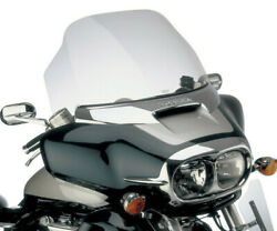 Honda Valkyrie Interstate Gl1500 - Large Clear Touring Windshield By Show Chrome