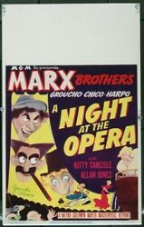 Night At The Opera, A 1935 22410 Signed Groucho Marx