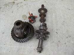 Massey Harris Pony Tractor Mh Complete Set Transmission Gears Top Bottom Pinion