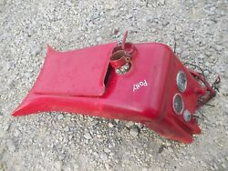 Massey Harris Pony Tractor Mh Dash Panel W/ Tool Box Door Cover And Wire Harness