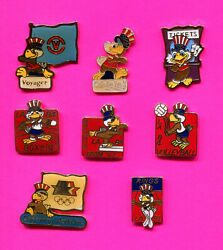 1984 Olympic Pins Sam Prototypes -le- Pin Badges Pick 1-2-3 Add To Cart 84 La