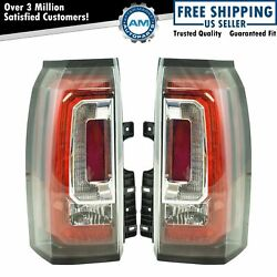 Rear Tail Light Lamp Assembly Pair Driver & Passenger Sides for GMC Yukon New