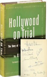HOLLYWOOD ON TRIAL First Edition signed by every member of the #134703
