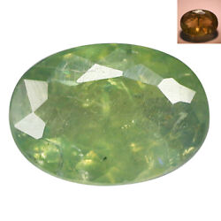 0.68Ct Phenomenal Oval cut 7 x 5 mm Blue Green to Red Color Change Alexandrite