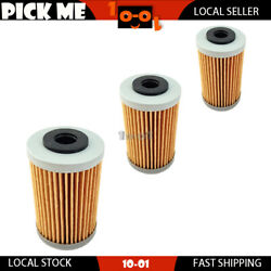 3 Pcs Motorcycle Oil Filter For Husaberg Fe250 2013 2014andnbsplocal Stock