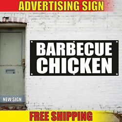 Chicken Advertising Banner Vinyl Mesh Decal Sign Barbecue Bbq Food Grill Meat 24