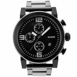 Brand New Nixon Ride Ss All Black Menand039s Watch A347 001