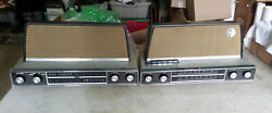 1950and039s Arvin Hi-fidelity 3586 Am/fm/stereo Tube Radio And Tube Amplifier