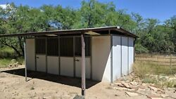 Royal Stall Horse Stables Dutch Doors Awning Gutters 12 X 24