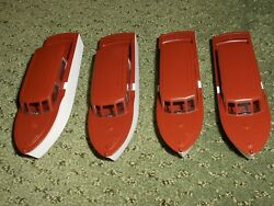 Lionel 6416 Brown Athearn Boats Pkg. Of Four- For The Boat Loader