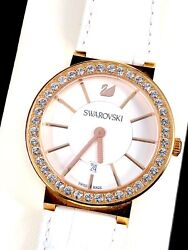 Dazzling Rose Gold Pvd Citra Sphere 38mm Pave Crystal Watch 1094362