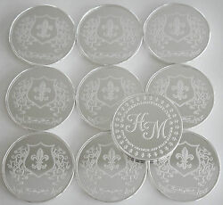 10 One Oz Hw Minting Heraldry Mint France Fine .999 Silver Coins Silver Rounds