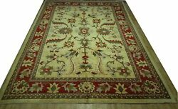 10and039 X 14and039 Desert Sand Oushak Handmade Tight Densely Knotted New Chobi Rug