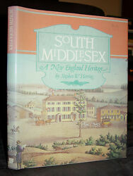 Histoire Sud Middlesex Co.massachusetts Settlers Indiens Farms Traders Mills