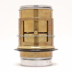 Vintage Brass Darlot Pulligny And Puyo Artistandrsquos 305mm Anachrom Lens 8x10+ Coverage