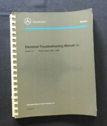 1983-1989 Mercedes-benz 280 300 380 420 450 500 Sl Electrical Troubles Manual Nm